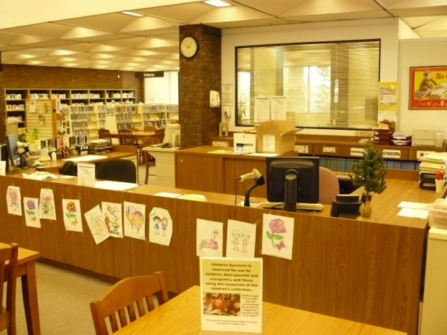 White Oak Library Before