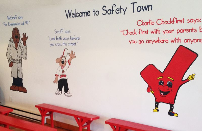 Safety Town Interior